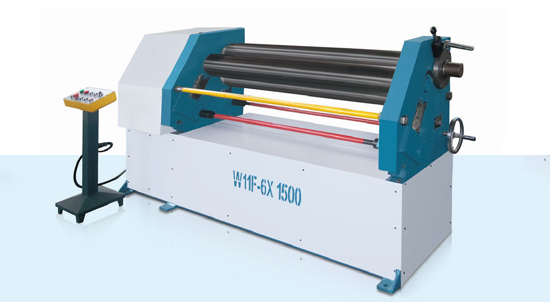 W11F 3-Roller Mechanical Asymmetrical Plate Rolling Machine
