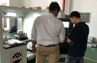 Our customer Sruthinraj from India bought the Spinning Machine from Hoston.