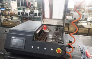 Our customer Mr. Yersin  from Kazakhstan bought Metallographic cutting machine from Hoston