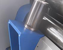 W11 Mechanical 3-roller Symmetrical Plate Rolling Machine