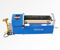 W11F Mechanical 3-roller Asymmetrical Plate Rolling Machine