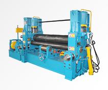 W11S Hydraulic Upper Roller Universal Plate Rolling Machine