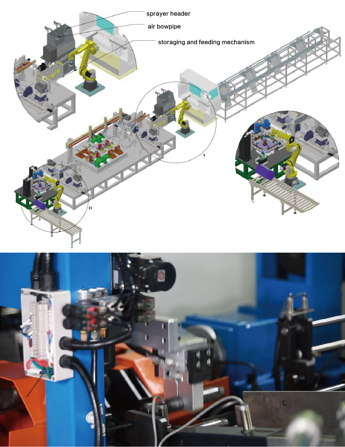Automobile Airbag Tube Processing Line